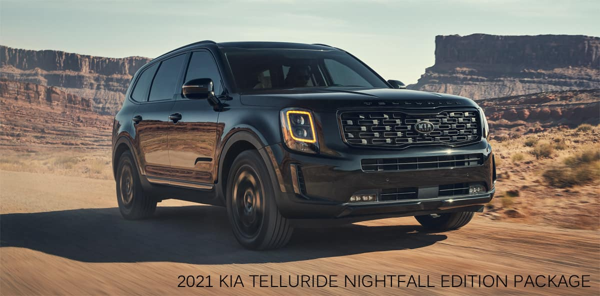 2021 Kia Telluride Nightfall Package