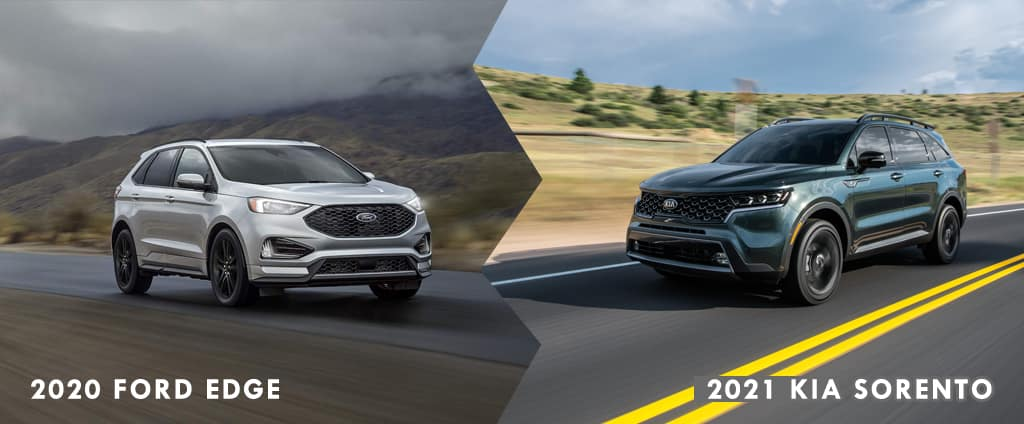 2021 Kia Sorento vs 2020 Ford Edge