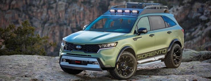 Kia Sorento Yosemite Edition Concept SUV