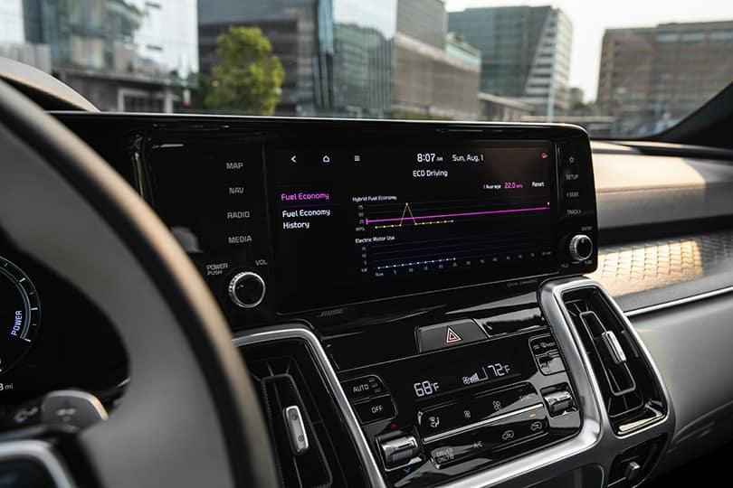 2022 Kia Sorento Touch Screen