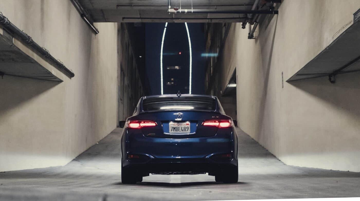 2018 Acura ILX Rear