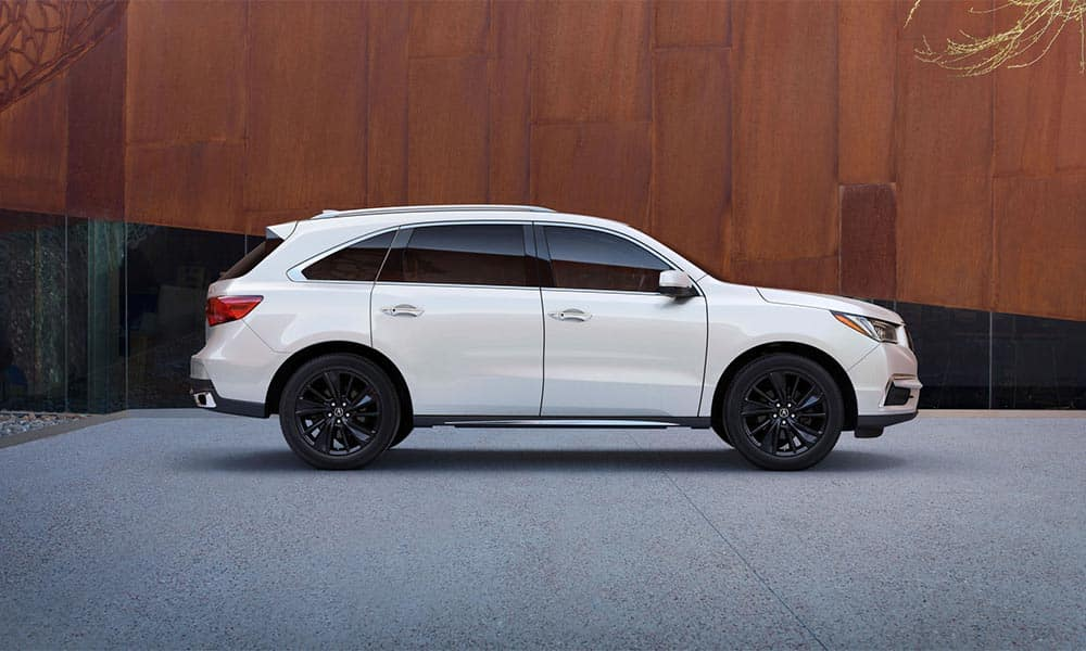 2018 Acura MDX Parked