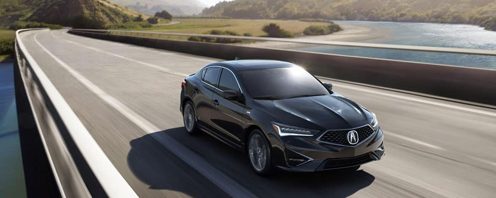 2019 Acura ILX Outdoors Driving in Bridge