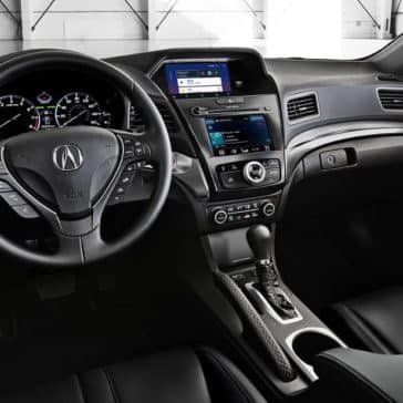 2019-Acura-ILX-in-ebony-interior