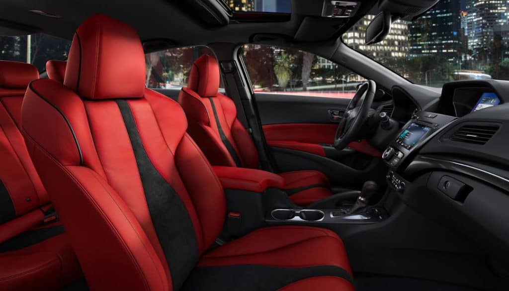 red-leather-in-2019-Acura-ILX