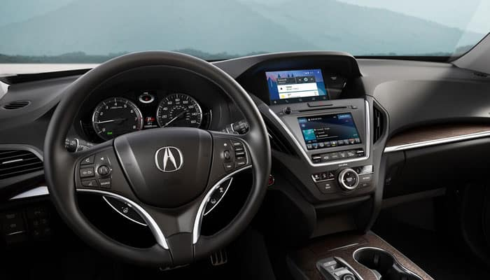 2019 Acura MDX Interior Features Drivers Perspective