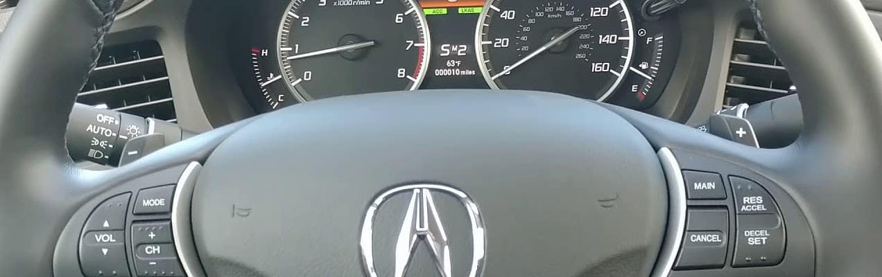 Acura Paddle Shifters