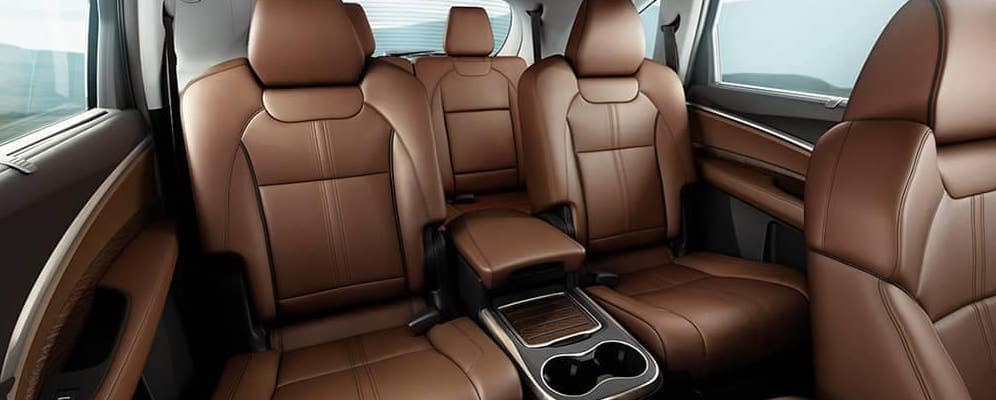 2020 Acura MDX interior seating
