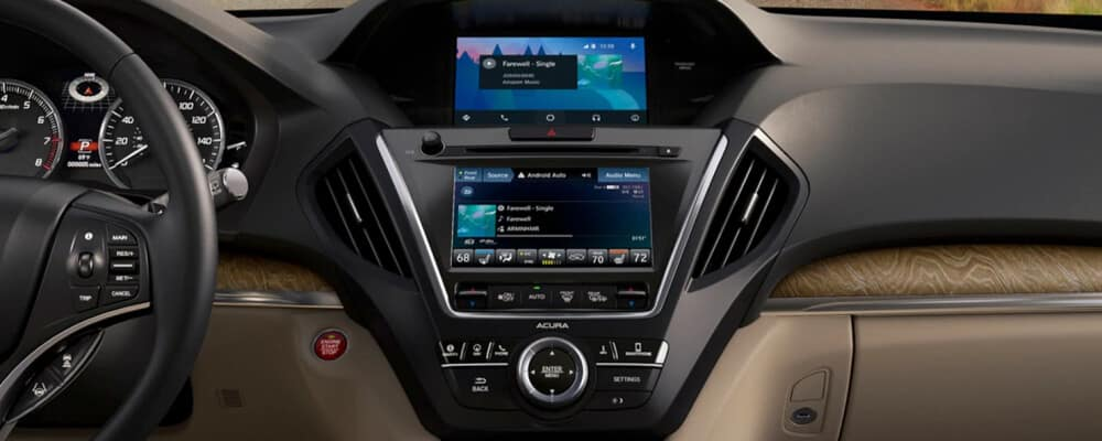 2020 Acura MDX Interior Technology package
