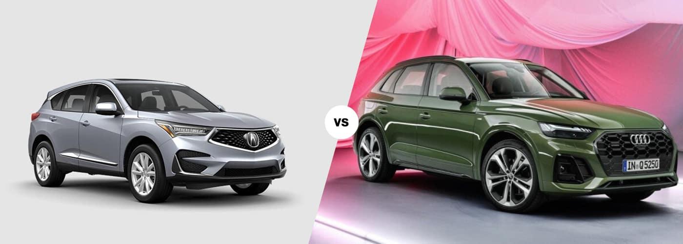 2021 Acura RDX vs 2021 Audi Q5