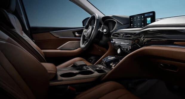 2022 Acura MDX interior dashboard side profile