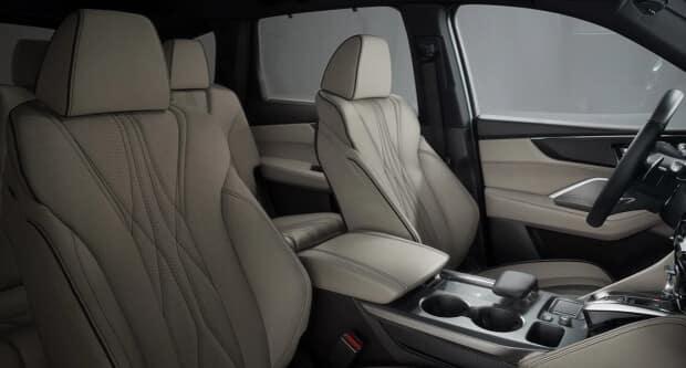 2022 Acura MDX sport trim interior