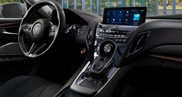 2021 Acura RDX interior dashboard side profile