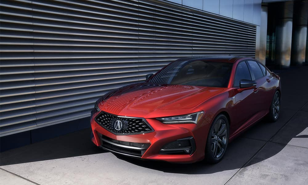 2021 Acura TLX technology package trim