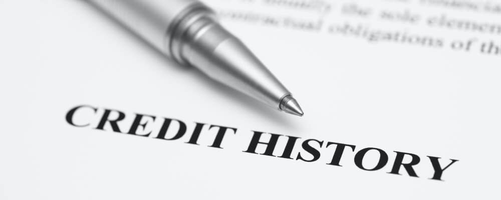 Credit history on paperwork