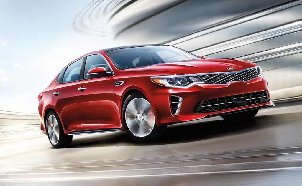 Safety Features 2018 KIA Optima near Clinton Township