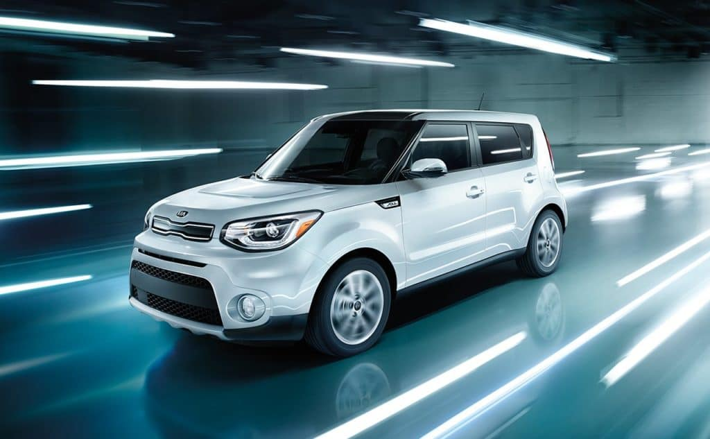 Safety Features 2018 KIA Soul near Clinton Township