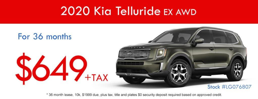 2020 Kia Telluride EX AWD