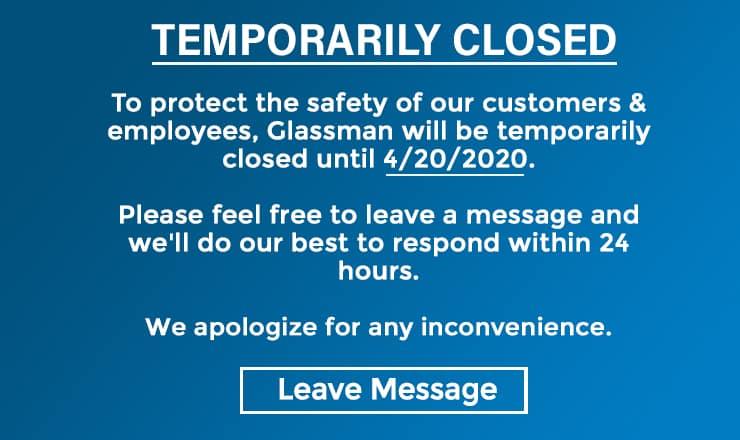 Glassman Auto Group Temporarily Closed Until April 20 in Southfield MI