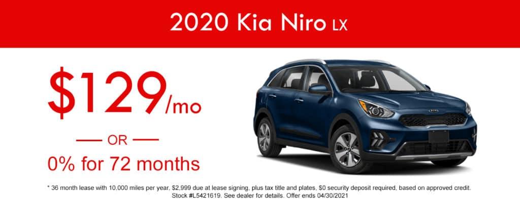 2020 Kia Niro LX