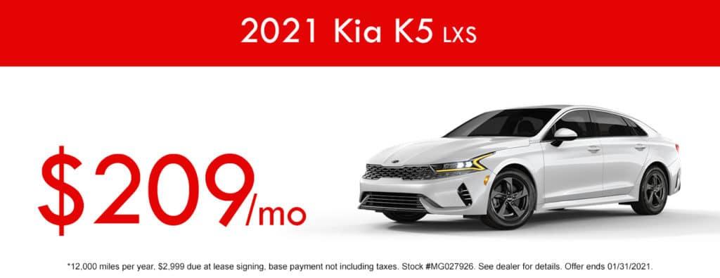 2021 Kia K5