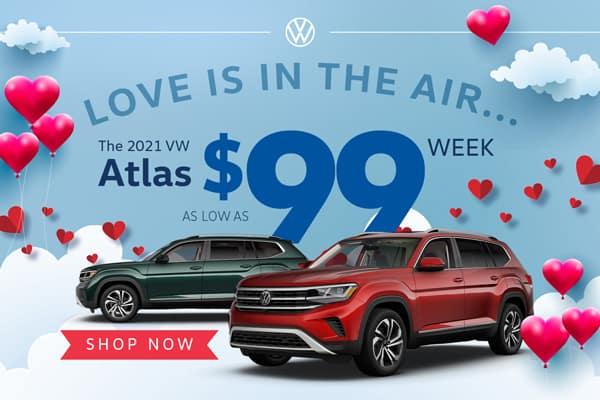 The 2021 VW Atlas