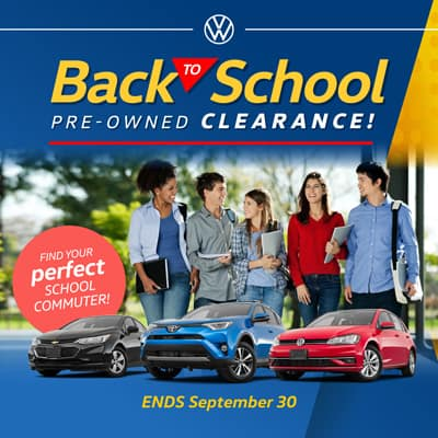 Back to School Pre-Owned Clearance