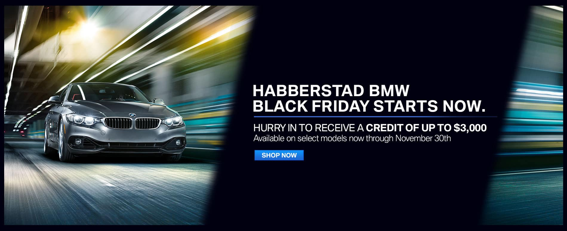 BMW Black Friday Habberstad