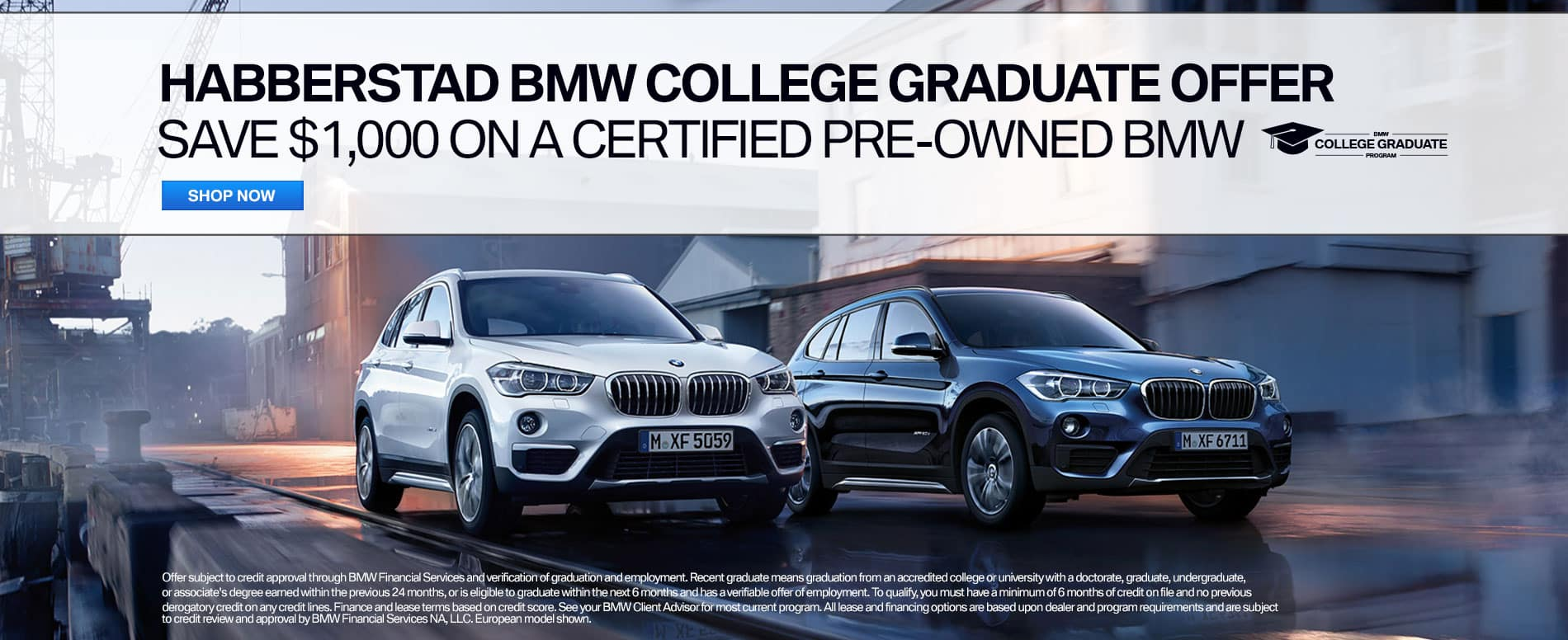 BMW College Grad Offer