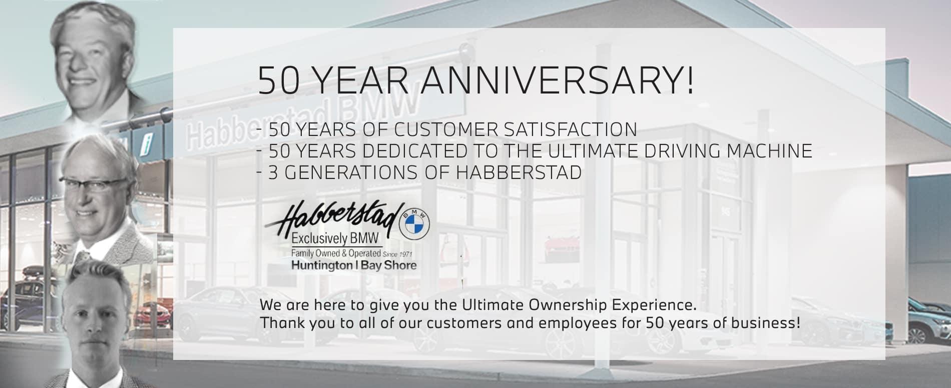 50 year anniversary celebration
