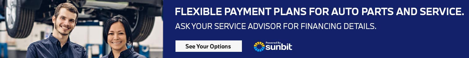 See your options for service financing with Sunbit. Click here.