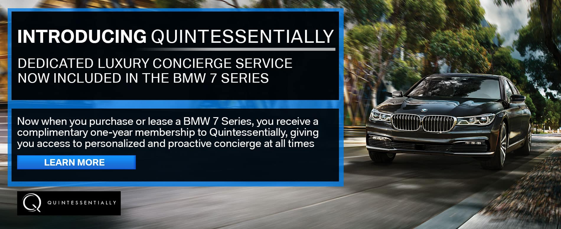 Quintessentially with BMW at Habberstad BMW Bay Shore