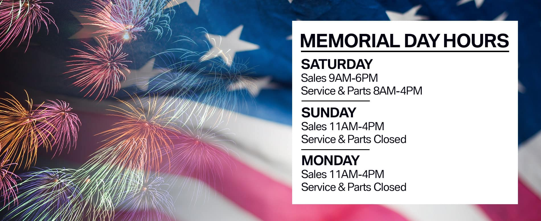 Memorial Day At Habberstad BMW Bay Shore
