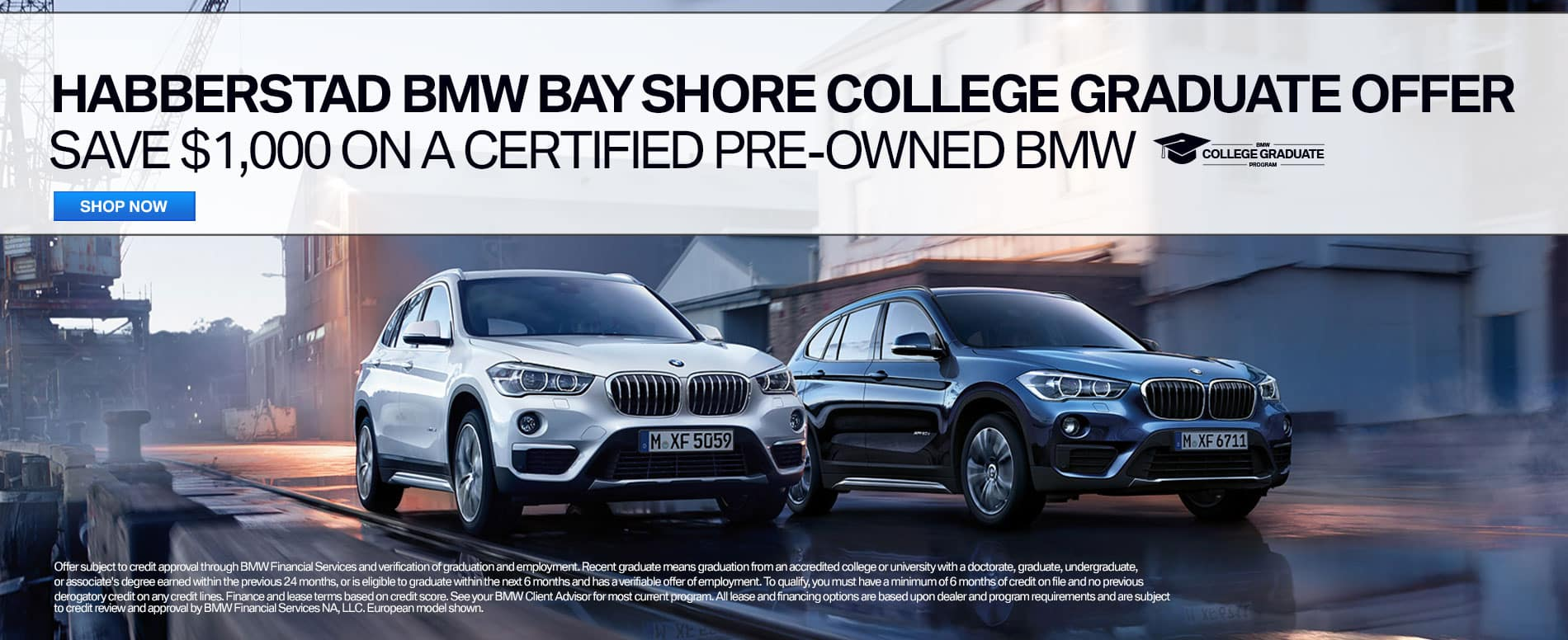 BMW College Graduate Offer CPO Long Island