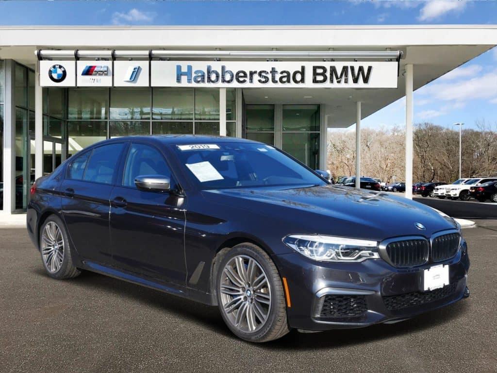 2019 BMW M550i xDRIVE SEDAN -- EXECUTIVE DEMO