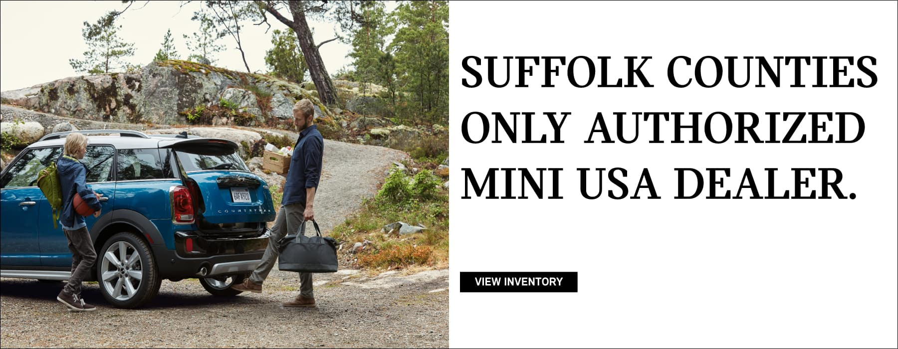SUFFOLK COUNTIES ONLY AUTHORIZED MINI USA DEALER.