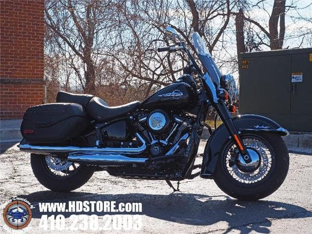 Baltimore MD - Pre-Owned 2018 Harley-Davidson Softail FLHC HERITAGE CLASSIC