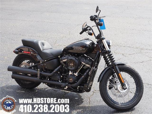Frederick MD - Pre-Owned 2018 Harley-Davidson Softail FXBB STREET BOB