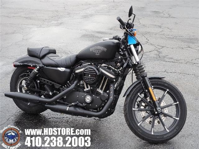Frederick MD - Pre-Owned 2018 Harley-Davidson Sportster XL883N 883 IRON
