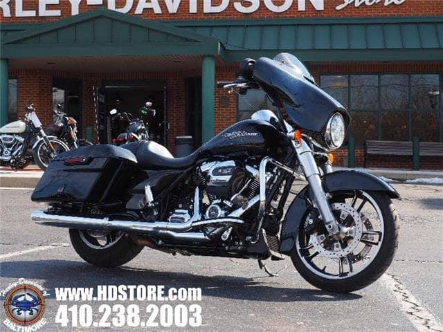 Baltimore MD - Pre-Owned 2018 Harley-Davidson Touring FLHX STREET GLIDE