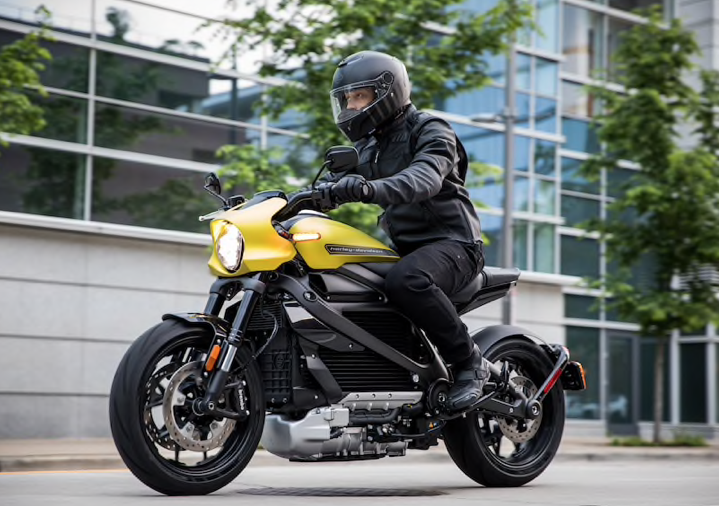 Washington DC area Preview of the 2020 Harley-Davidson Livewire