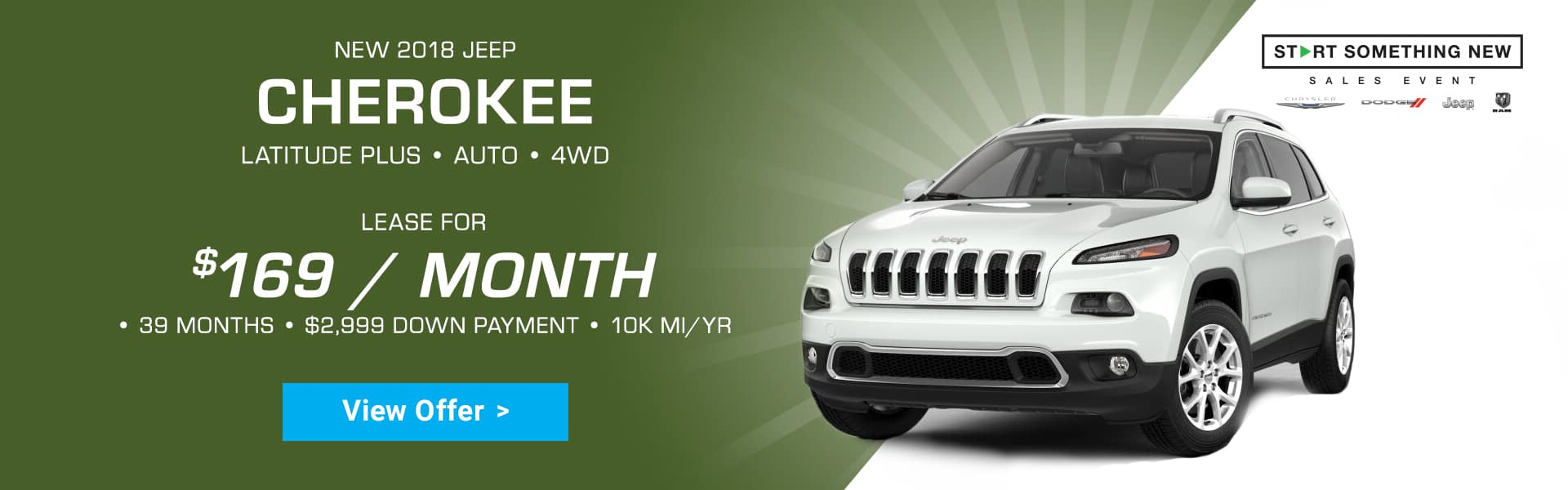 Harr Jeep Cherokee Special Offer