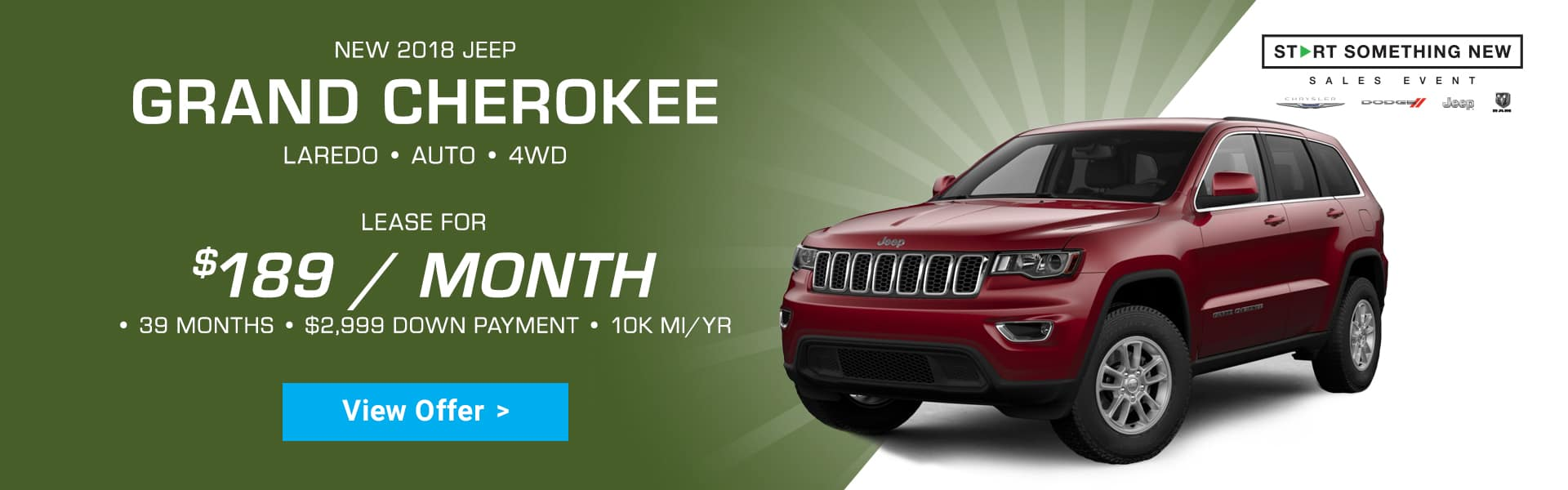 Harr Jeep Grand Cherokee Special Offer