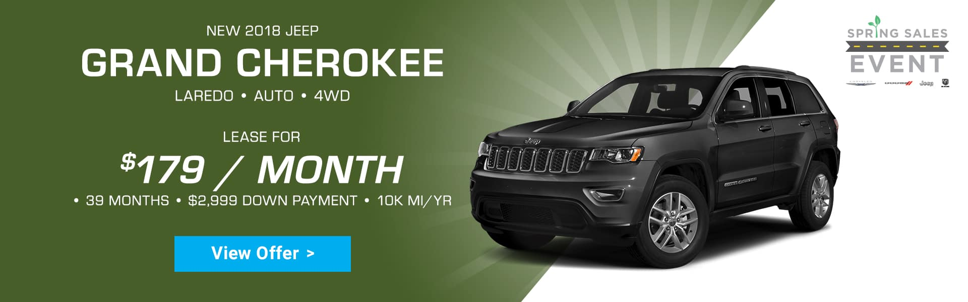 Jeep Grand Cherokee Special Offer