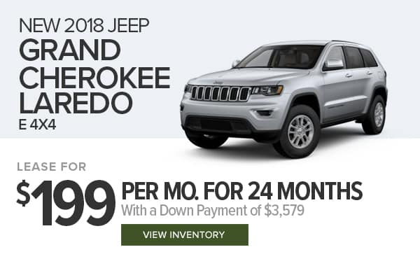 2018 Jeep Grand Cherokee Laredo E 4x4