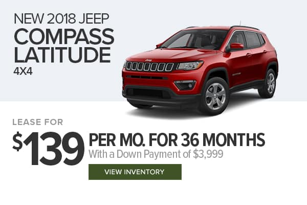Wonderful Harr Chrysler Jeep Dodge Ram Special Offers. 2018 Jeep Compass Latitude 4x4