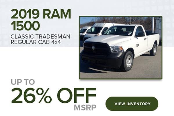 2019 Ram 1500 Classic Tradesman Regular Cab 4x4