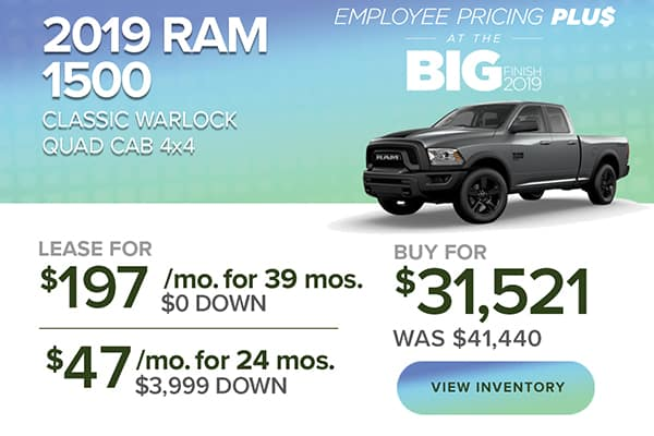 2019 Ram 1500 Classic Warlock QuadCab 4x4