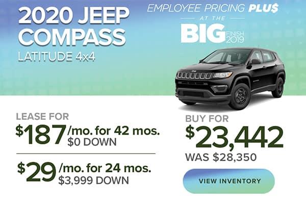 2020 Jeep Compass Latitude 4x4