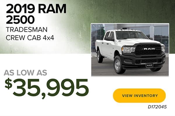 2019 Ram 2500 Tradesman Crew Cab 4X4